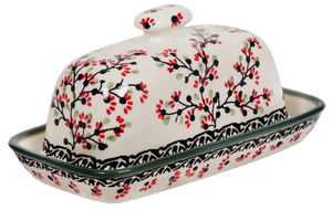 American Butter Dish (Cherry Blossom)