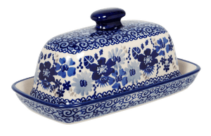 American Butter Dish (Blue Life)