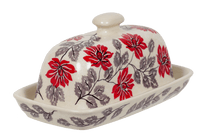 American Butter Dish (Evening Blossoms)
