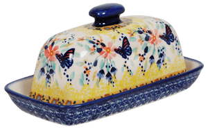 American Butter Dish (Butterfly Bliss)