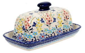 American Butter Dish (Butterfly Bounty)