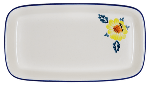 American Butter Dish (Brilliant Garland)
