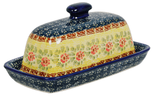 American Butter Dish (Bountiful Blossoms)