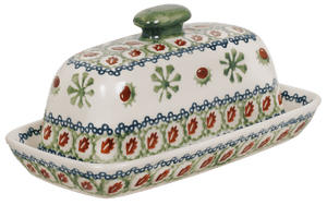 American Butter Dish (Chocolate Mint)