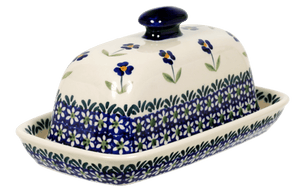 American Butter Dish (Forget Me Not)