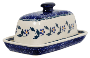 American Butter Dish (Morning Glory)