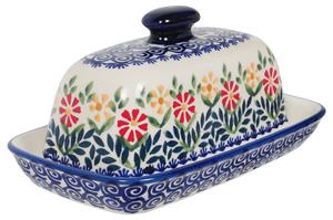 American Butter Dish (Flower Power)