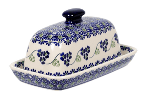 American Butter Dish (Vineyard in Bloom)