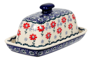 American Butter Dish (Summer Blossoms)