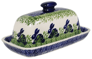 American Butter Dish (Bunny Love)