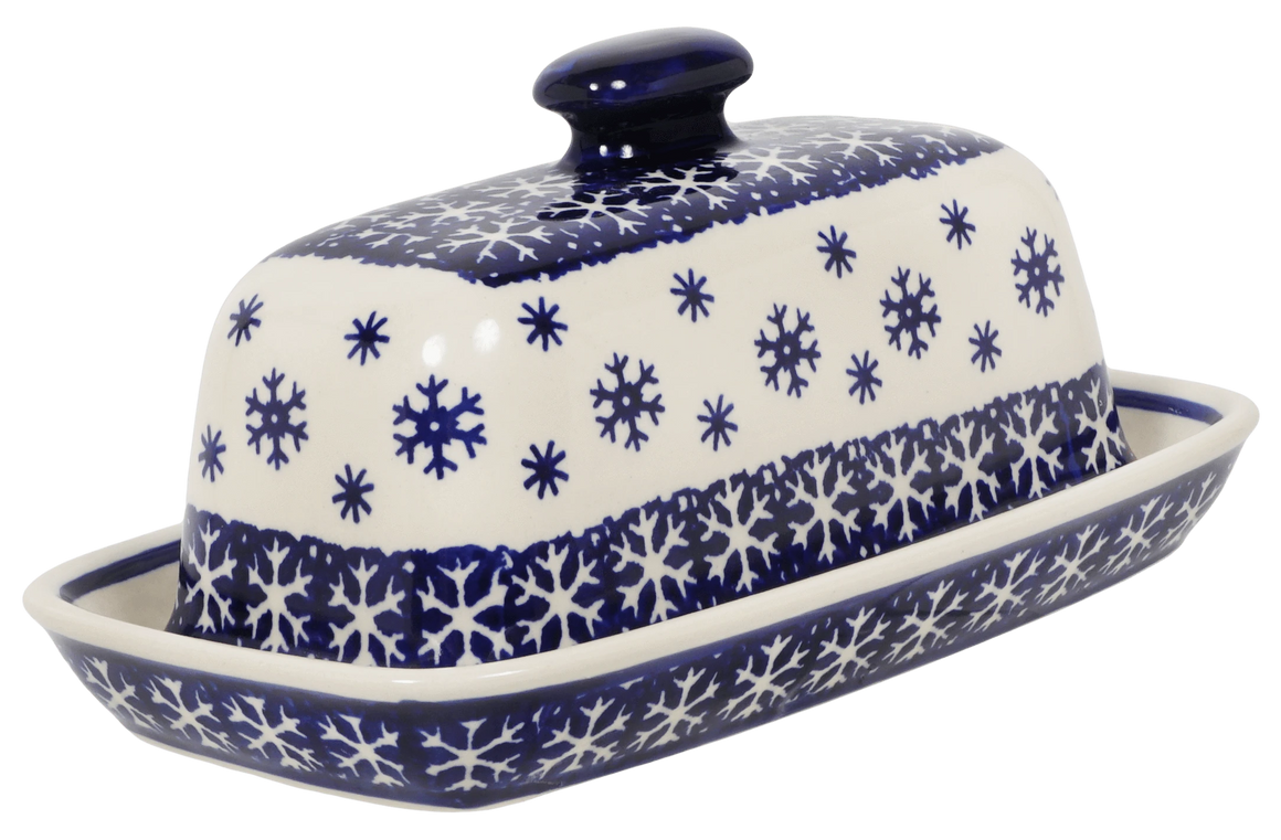 American Butter Dish (Snow Drift)