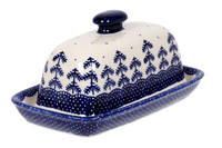 American Butter Dish (Blue Fir)
