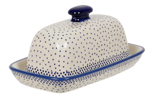 American Butter Dish (Misty Blue)