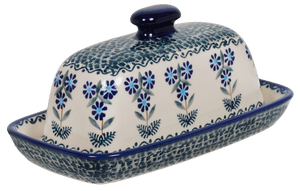 American Butter Dish (Blossoms on the Green)