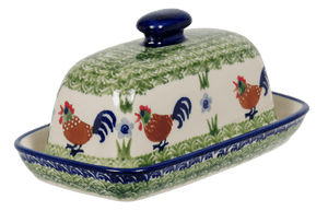 American Butter Dish (Chicken Dance)