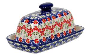 American Butter Dish (Ring Around the Rosie)