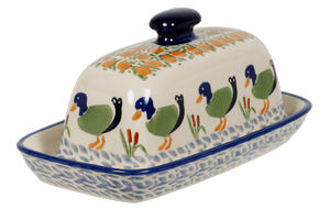 American Butter Dish (Ducks in a Row)
