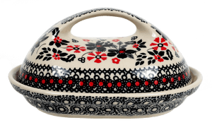 The Fancy Butter Dish (Duet in Black & Red)