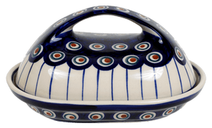 The Fancy Butter Dish (Peacock In Line)