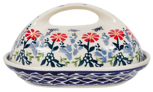The Fancy Butter Dish (Butterfly Blossoms)