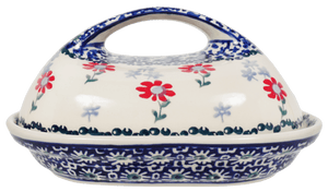 The Fancy Butter Dish (Summer Blossoms)