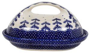 The Fancy Butter Dish (Blue Fir)