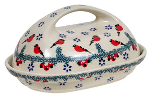 The Fancy Butter Dish (Red Bird)