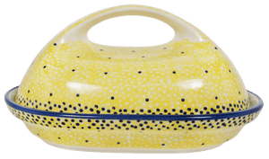 The Fancy Butter Dish (Sunshine Blue Speckle)