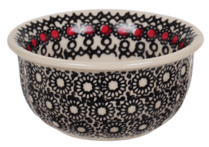 "3.5"" Bowl (Duet in Black & Red)"