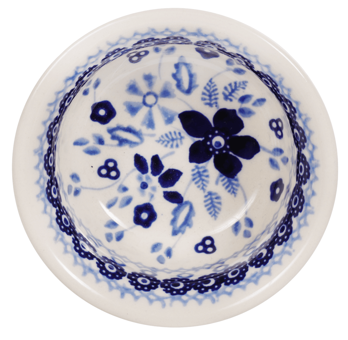 "3.5"" Bowl (Duet in Blue)"