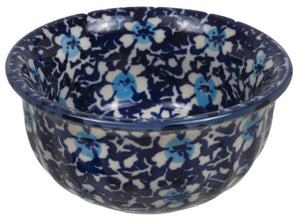 "3.5"" Bowl (Blue on Blue)"