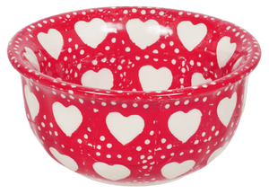 "3.5"" Bowl (Torrent of Hearts - Red)"
