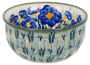 "4.5"" Bowl (Bold Blue Blossoms)"