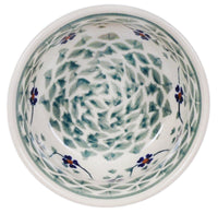 "4.5"" Bowl (Woven Pansies) 