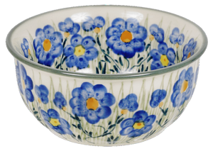 "5.5"" Bowl (Bold Blue Blossoms)"