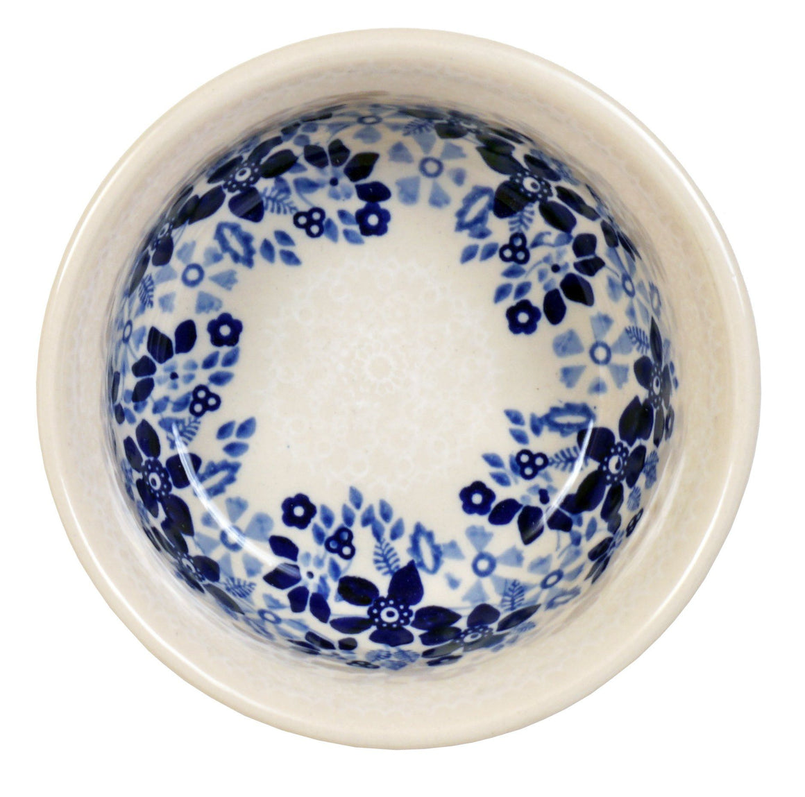 "5.5"" Bowl (Duet Blue Wreath)"