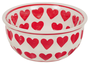 "5.5"" Bowl (Whole Hearted - Red)"