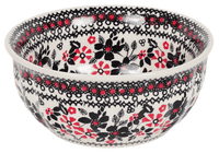 "6.5"" Bowl  (Duet in Black & Red)"