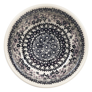 "6.5"" Bowl  (Duet in Black & Grey)"