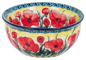 "6.5"" Bowl (Poppies in Bloom)"