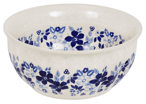 "6.5"" Bowl  (Duet Blue Wreath)"