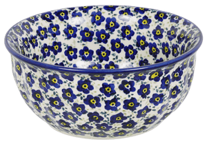 "6.5"" Bowl (Floral Revival Blue)"