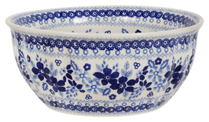 "7.75"" Bowl (Duet in Blue)"