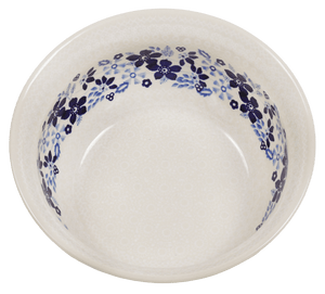"7.75"" Bowl  (Duet Blue Wreath)"