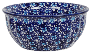 "7.75"" Bowl (Blue on Blue)"