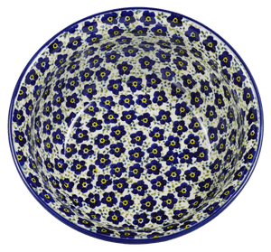 "7.75"" Bowl (Floral Revival Blue)"