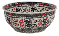 "9"" Bowl  (Duet in Black & Red)"