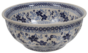 "9"" Bowl  (Duet in Blue)"