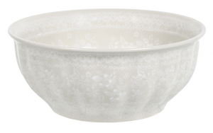 "9"" Bowl  (Duet in Lace)"