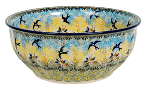 "9"" Bowl (Soaring Swallows)"
